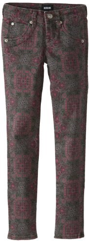 Hudson Jeans Big Girls' Printed Collin Skinny Jean with Flap Pocket