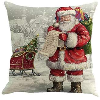 Clearance!Christmas Pillow Cases