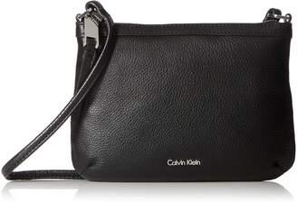 Calvin Klein Carrie Pebble Key Item Crossbody Cross Body