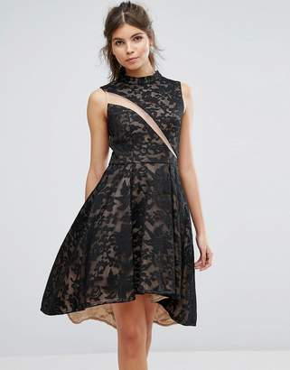 Forever Unique Lace Skater Dress