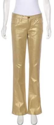 Ralph Lauren Mid-Rise Wide-Leg Jeans