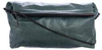 Dries Van Noten Distressed Leather Crossbody Bag