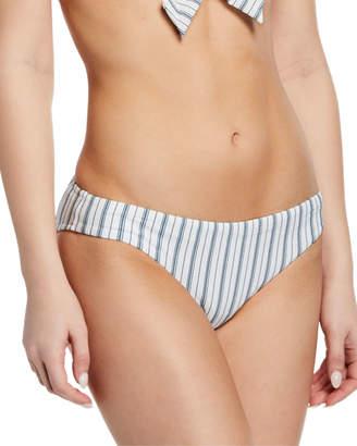 Seafolly Vertical-Stripe Hipster Bikini Bottoms