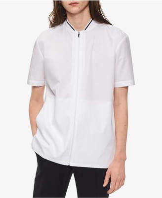 Calvin Klein Men's Zip-Front Shirt