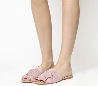 Office Smitten Knot Front Sandals