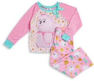 Ame Sleepwear The Secret Life of Pets Pajama Set $36 thestylecure.com