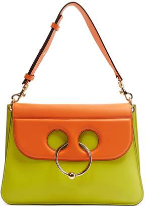 J.W.Anderson Pierce medium bi-colour leather shoulder bag
