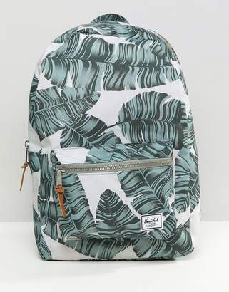 Herschel Settlement Backpack in Palm Print