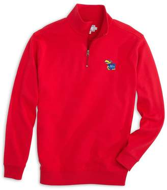 Gameday Skipjack 1/4 Zip Pullover - University of Kansas