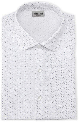 Kenneth Cole Reaction Microdot Slim Fit Dress Shirt