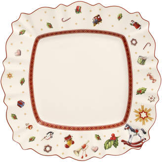 Villeroy & Boch Toy's Delight Square Dinner Plate 11 x 11 in