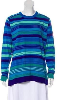 Obermeyer Striped Crew Neck Sweater