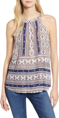 Daniel Rainn Printed Tank Top