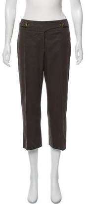 Celine Cropped Mid-Rise Pants