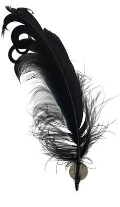 Ann Demeulemeester feather earring