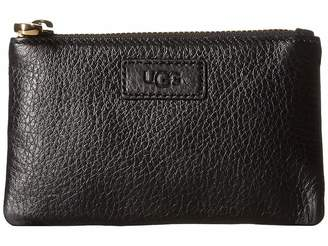 UGG Small Zip Pouch Leather