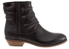 SoftWalk Rochelle Leather Slouch Boots