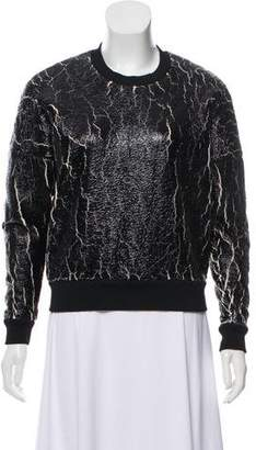 3.1 Phillip Lim Long Sleeve Crew Neck Sweatshirt