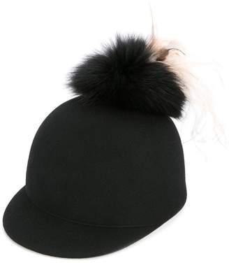 Federica Moretti pom pom hat