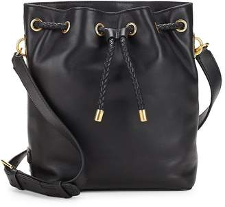 Cole Haan Women's Benson Drawstring Leather Crossbody Bag