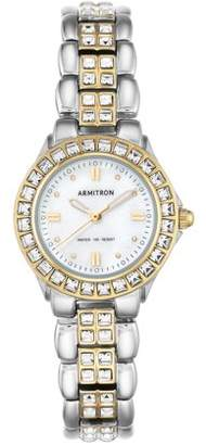 Mother of Pearl Ladies' Armitron Mother-of-Pearl Dress Watch, Two-Tone