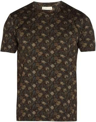 Etro Floral-print cotton T-shirt