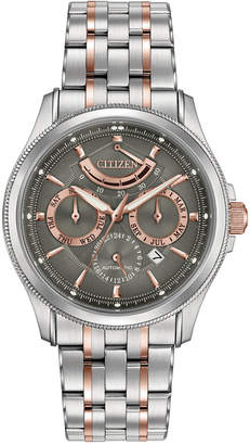 Citizen Men's Automatic Signature Grand Classic Two-Tone Stainless Steel Bracelet Watch 42mm NB5006-59H $1,250 thestylecure.com