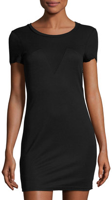 Lucca Couture Anais Jersey Tee Dress, Black $49 thestylecure.com