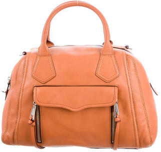 Rebecca Minkoff Leather Satchel $195 thestylecure.com