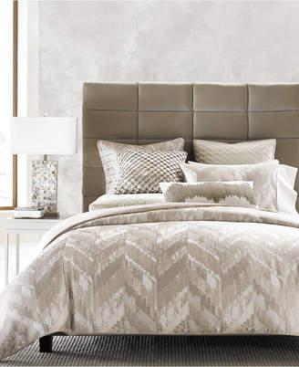 Hotel Collection Distressed Chevron Full Queen Comforter