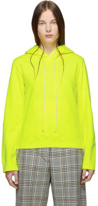 MM6 MAISON MARGIELA Yellow Cotton Hoodie