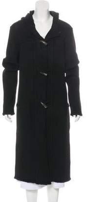 Lanvin Alpace & Wool-Blend Coat
