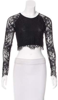 For Love & Lemons Lace Crop Top