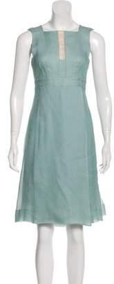 Akris Silk Midi Dress
