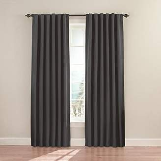 Eclipse 11353052084CHR Fresno 52-Inch by 84-Inch Blackout Single Window Curtain Panel