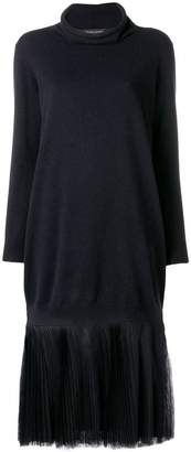 Fabiana Filippi pleated midi sweater dress