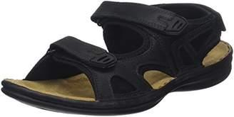 TBS Men's Berric Open Toe Sandals, Noir (Noir)
