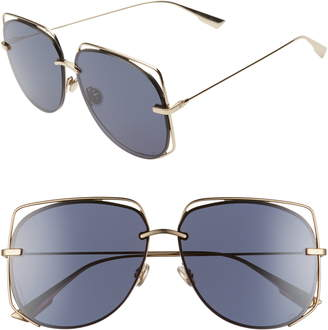 a7794795eb Christian Dior Stellair 61mm Aviator Sunglasses