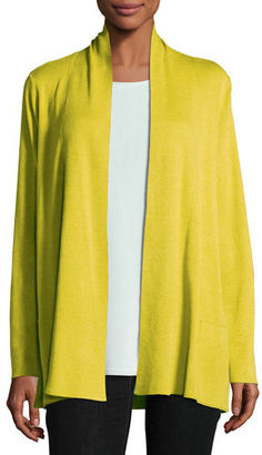 Eileen Fisher Tencel® Blend Cardigan with Pockets $248 thestylecure.com