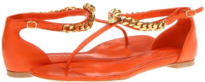 Alexander McQueen 314745WANY0 7535 (Orange) - Footwear