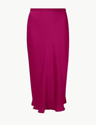 Marks and Spencer Slip Midi Skirt