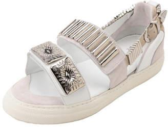 Toga Pulla Metal Sneaker Sandals
