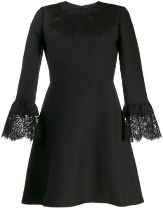 Valentino lace insert mini dress