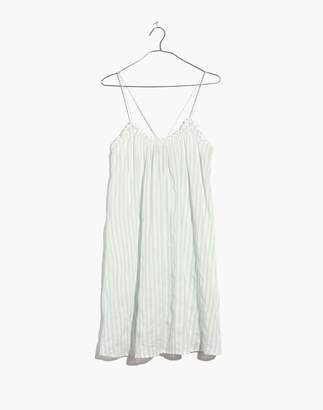 Madewell Tulum Cover-Up Dress in Stripe