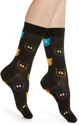 Happy Socks Cat Socks