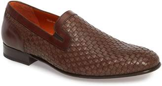 Mezlan Eliseo Woven Venetian Loafer