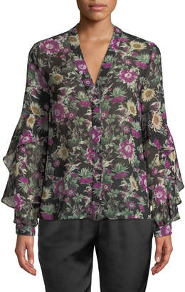 Rachel Roy Ainsley Floral-Print Top