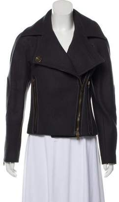 Stella McCartney Asymmetrical Wool Jacket