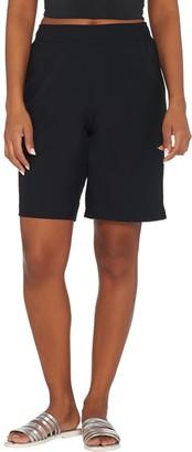 Denim & Co. Beach Board Shorts with Pockets