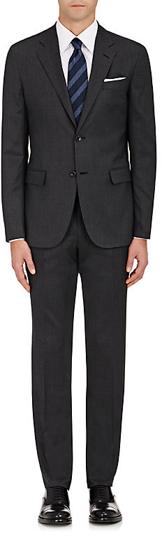 Barneys New YorkBarneys New York BARNEYS NEW YORK MEN'S WOOL TWO-BUTTON SUIT